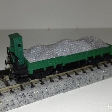 Trenes Escala: ARNOLD N BORDE BAJO CON GARITA CARGA DE GRAVAL43-249 (CON COMPRA DE 5 LOTES O MAS ENVÍO GRATIS). Lote 182515558