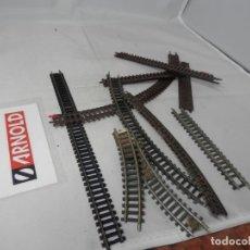 Trenes Escala: LOTE VIAS ESCALA N DE ARNOLD . Lote 183589616