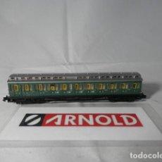 Trenes Escala: VAGÓN PASAJEROS ESCALA N DE ARNOLD . Lote 191338633