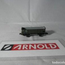 Trenes Escala: VAGÓN BORDE ALTO ESCALA N DE ARNOLD . Lote 191372371