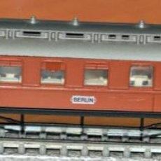 Trenes Escala: COCHE RESTAURANTE SPEISEWAGEN SERIE OLD TIMER DE ARNOLD, EN ESCALA N. VÁLIDO PARA IBERTREN.. Lote 191792326
