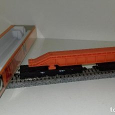 Trenes Escala: ARNOLD N PLATAFORMA CON CARGA 12 EJES REF 4931 L44-21 (CON COMPRA DE 5 LOTES O MAS ENVÍO GRATIS). Lote 191911733