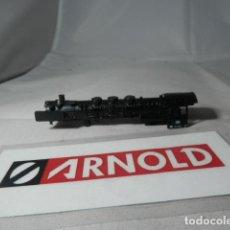 Trenes Escala: CHASIS LOCOMOTORA VAPOR ESCALA N DE ARNOLD. Lote 192693580