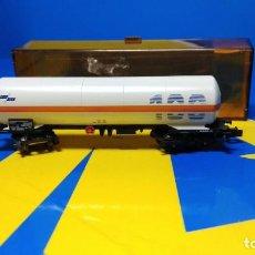 Trenes Escala: VAGON DE MERCANCIAS ESCALA N ARNOLD CISTERNA 4382 -ARNOLD . SIN USO. Lote 194388151