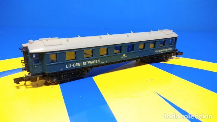 Trenes Escala: Escala N ARNOLD Vagón de Pasajeros LU-Begleitwagen-sin uso-nuevo - Foto 3 - 194398301