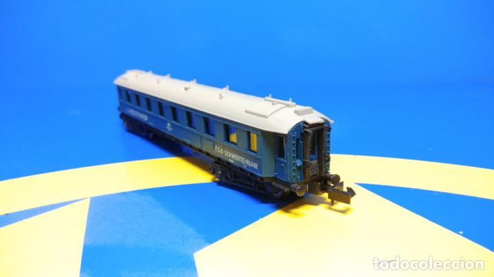 Trenes Escala: Escala N ARNOLD Vagón de Pasajeros LU-Begleitwagen-sin uso-nuevo - Foto 4 - 194398301
