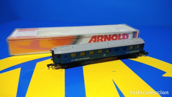 Trenes Escala: Escala N ARNOLD Vagón de Pasajeros LU-Begleitwagen-sin uso-nuevo - Foto 7 - 194398301