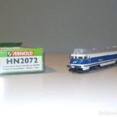 Trenes Escala: BAJADA DE PRECIO.ARNOLD - LOCOMOTORA DIESEL, CLASE 354, 354 004-4 VIRGEN DE GUADALUPE RENFE (HN2072). Lote 194752325