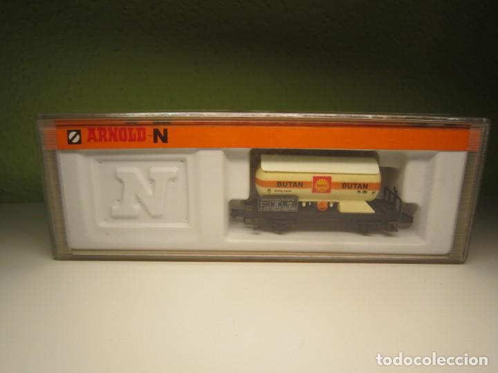 VAGON CISTERNA ARNOLD N 4510 (Juguetes - Trenes a Escala N - Arnold N )