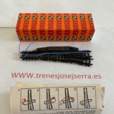 Trenes Escala: ARNOLD N. UN DESVIO ELECTRICO. DERECHA. Lote 197608633