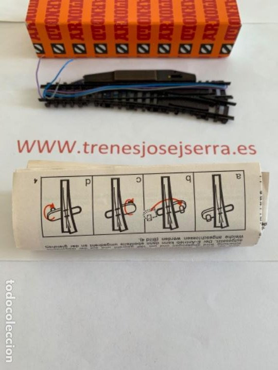 Trenes Escala: ARNOLD N. UN DESVIO ELECTRICO. DERECHA - Foto 2 - 197608633