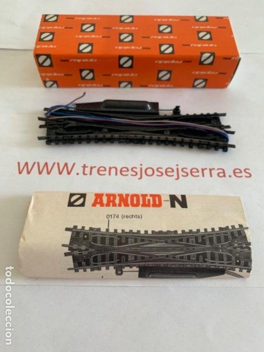 ARNOLD N. UN CRUCE ELECTRICO (Juguetes - Trenes a Escala N - Arnold N )