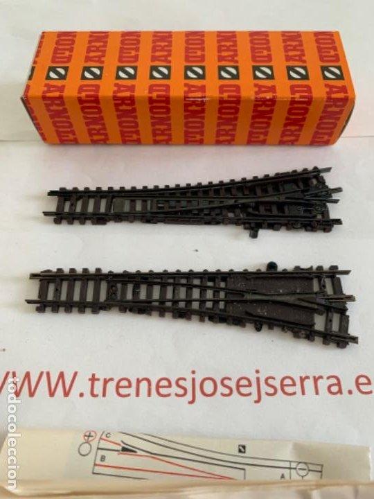 Trenes Escala: ARNOLD N. SEGUNDA MANO PAREJA DESVIOS MANUALES - Foto 2 - 197612571