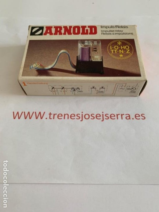 ARNOLD N. RELE 7452 (Juguetes - Trenes a Escala N - Arnold N )