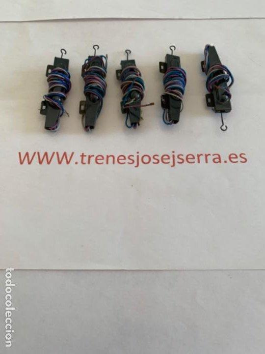 ARNOLD. N. LOTE CINCO MOTORES DESVIOS (Juguetes - Trenes a Escala N - Arnold N )