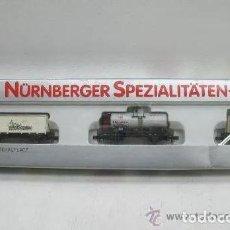 Trenes Escala: 3 VAGONES DE MERCANCIAS ARNOLD N REF 0243 EN SET.- COMO NUEVOS - ESCALA N. Lote 204367420