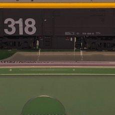 Trenes Escala: ARNOL LOCOMOTORA DIESEL RENFE 318.009 AMARILLO Y GRIS ÉPOCA V REFERENCIA HN2250, ESCALA N. Lote 205541386