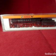 Trenes Escala: LOCOMOTORA VAPOR ESCALA N DE ARNOLD. Lote 206389857