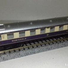 Trenes Escala: ARNOLD N PASAJEROS RHEINCOLD 1ª CON LUZ --- L45-200 (CON COMPRA DE 5 LOTES O MAS, ENVÍO GRATIS). Lote 207211031