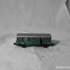 Comboios Escala: VAGÓN PASAJEROS 2 EJES ESCALA N DE ARNOLD. Lote 207671701
