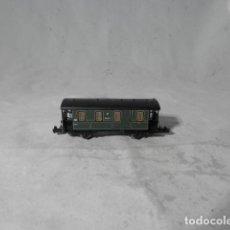 Comboios Escala: VAGÓN PASAJEROS 2 EJES ESCALA N DE ARNOLD. Lote 207671727