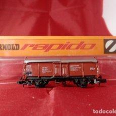 Comboios Escala: VAGÓN BORDE ALTO ESCALA N DE ARNOLD. Lote 207787435