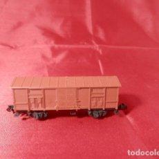 Comboios Escala: VAGÓN CERRADO ESCALA N DE ARNOLD. Lote 207787680