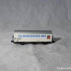 Comboios Escala: VAGÓN CERRADO ESCALA N DE MINITRIX. Lote 207805791