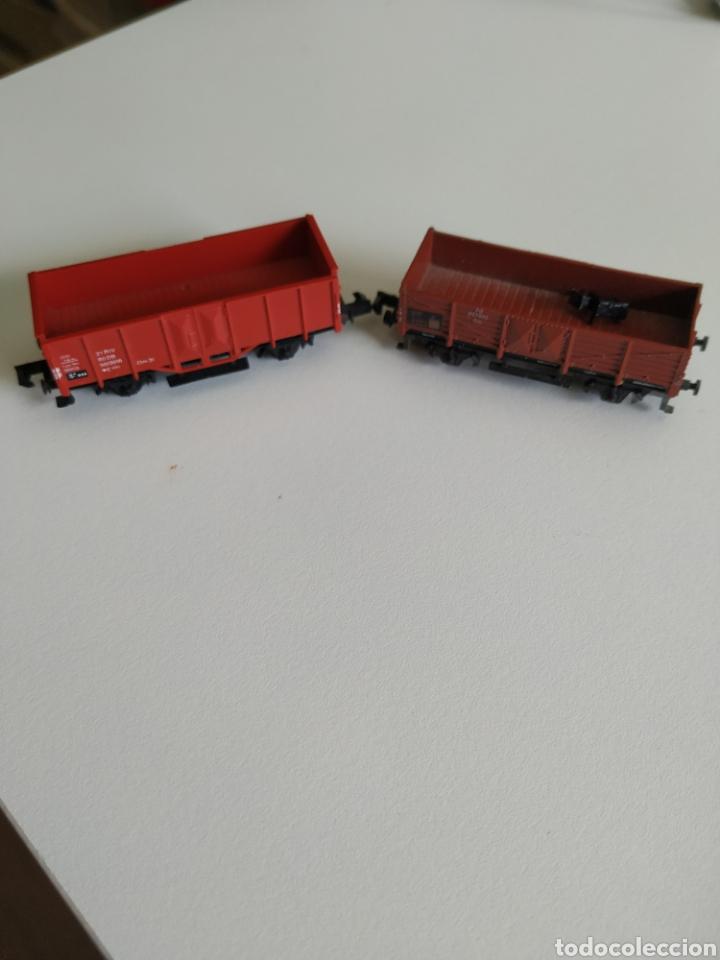 2 VAGONES ARNOLD N (Juguetes - Trenes a Escala N - Arnold N )