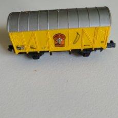 Trenes Escala: VAGÓN ARNOLD ESCALA N BANANAS. Lote 208693797