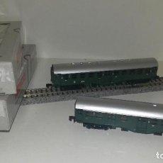 Trenes Escala: ARNOLD N 2 VAGONES PASAJEROS 2ª 5804 Y 5806 --- L46-016 (CON COMPRA DE 5 LOTES O MAS, ENVÍO GRATIS). Lote 212537915