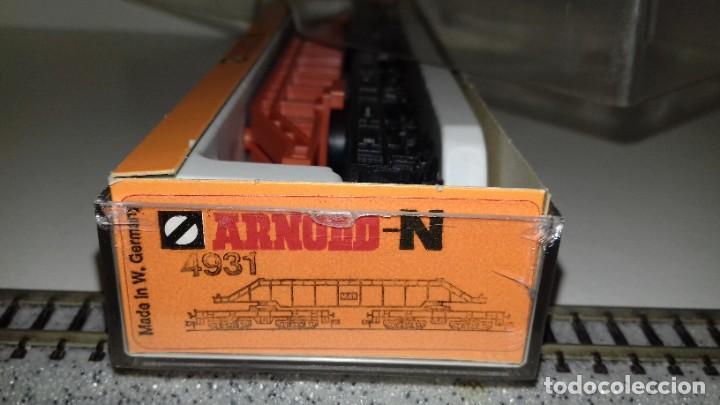 Trenes Escala: ARNOLD N plataforma carga 12 ejes ref 4931 --- L46-030 (Con compra de 5 lotes o mas, envío gratis) - Foto 2 - 212708130