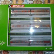 Trenes Escala: TALGO III (6 COCHES) DE ARNOLD. Lote 213692656