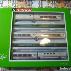 Trenes Escala: TALGO PENDULAR ALVIA PICASSO RENFE OPERADORA ARNOLD (6 COCHES). Lote 213939775