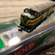Trenes Escala: LOCOMOTORA ARNOLD HN2248S RENFE 318 DIGITAL SONIDO. Lote 214024362