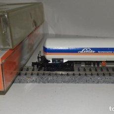 Trenes Escala: ARNOLD N CISTERNA 4 EJES LINDE 4393 L46-112 (CON COMPRA DE 5 LOTES O MAS, ENVÍO GRATIS). Lote 214495035