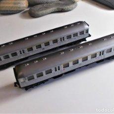 Trenes Escala: 2 VAGONES ARNOLD - N - SIN SEÑALES DE USO. Lote 218400670
