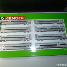 Trenes Escala: AVE S-103 RENFE OPERADORA DIGITAL COMPLETO (8 COCHES) ARNOLD. Lote 219448986