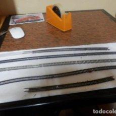 Trenes Escala: LOTE VIAS FLEXIBLES ESCALA N. Lote 220982346