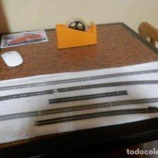 Trenes Escala: LOTE VIAS FLEXIBLES ESCALA N. Lote 220982558