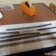 Trenes Escala: LOTE VIAS FLEXIBLES ESCALA N. Lote 220982608