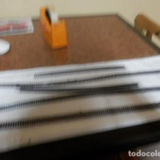 Trenes Escala: LOTE VIAS FLEXIBLES ESCALA N. Lote 220982692