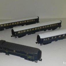 Trenes Escala: ARNOLD N CONJUNTO WAGONS LITS -- L33-079 (CON COMPRA DE 5 LOTES O MAS, ENVÍO GRATIS). Lote 221134026