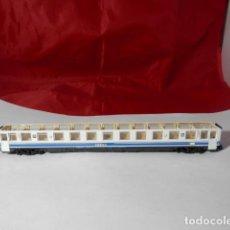 Trenes Escala: VAGÓN PASAJEROS RENFE ESCALA N DE ARNOLD SIN TECHO. Lote 221845940
