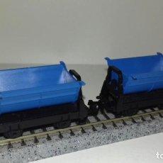 Trenes Escala: ARNOLD N 2 VAGONETAS DE MINAS -- L46-344 (CON COMPRA DE 5 LOTES O MAS, ENVÍO GRATIS). Lote 222052580