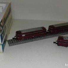 Trenes Escala: ARNOLD N FERROBUS 3 PIEZAS 0291 0391 0392 --- L47-100 (CON COMPRA DE 5 LOTES O MAS, ENVÍO GRATIS). Lote 230570330