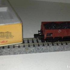 Trenes Escala: ARNOLD N BORDE MEDIO CARBÓN 0446 -- L47-121 (CON COMPRA DE 5 LOTES O MAS, ENVÍO GRATIS). Lote 231367535