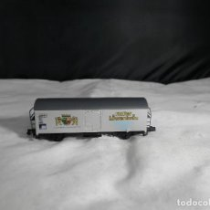 Trenes Escala: VAGÓN CERRADO ESCALA N DE ARNOLD. Lote 232996255