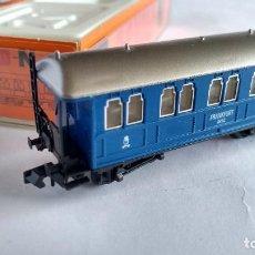 Comboios Escala: ARNOLD N VAGÓN COCHE PASAJEROS REF 3051 .MUY BUEN ESTADO VÁLIDO IBERTREN ,ROCO,ETC. Lote 233852280