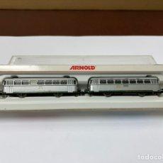 Trenes Escala: LOCOMOTORA ARNOLD FERROBUS RENFE FER-301. Lote 242147470